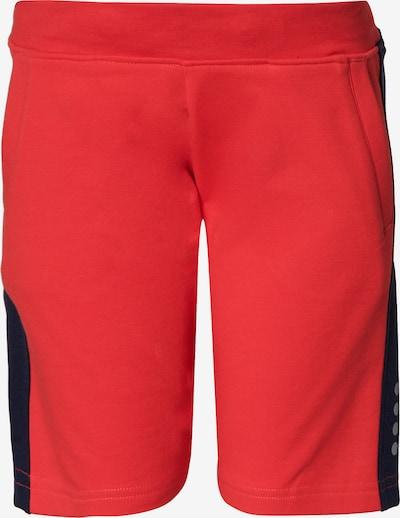 LEGO WEAR Shorts in rot / schwarz: Frontalansicht