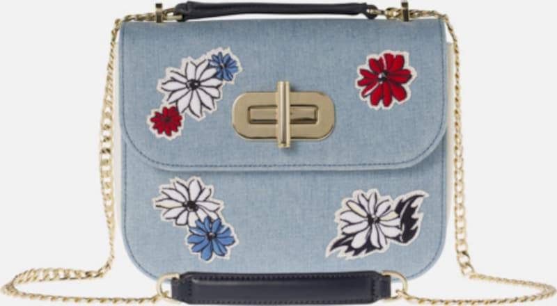 TOMMY HILFIGER Tasche,Floral Embroidery