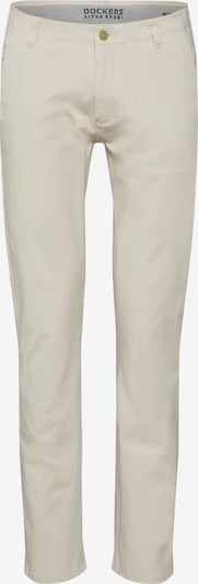 Dockers Hose 'SMART 360 FLEX ALPHA SLIM' in beige / nude / weiß, Produktansicht