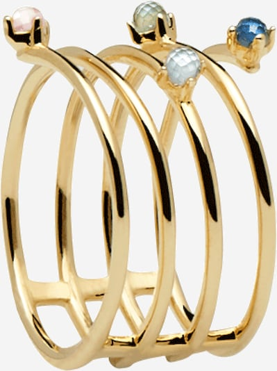 P D PAOLA Ring 'AN ULTRAMARINE' in gold, Produktansicht