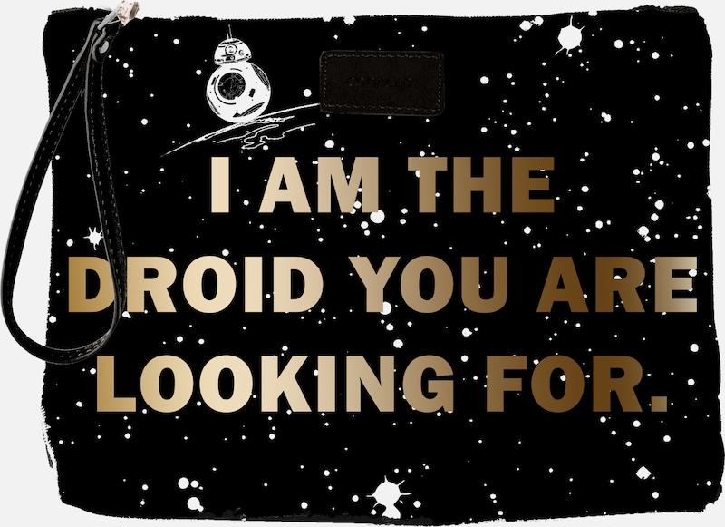 CODELLO Kosmetiktasche mit Star Wars-Schriftzug
