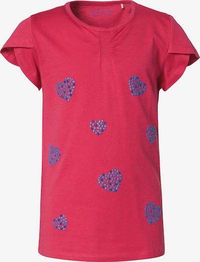 ESPRIT T-Shirt mit Herzchenmuster in pink / knallrot, Produktansicht