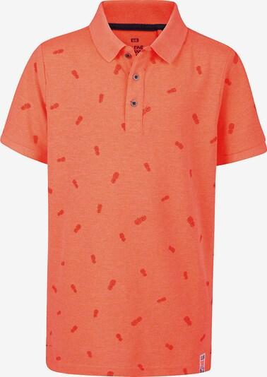 WE Fashion Poloshirt in orange / dunkelorange, Produktansicht