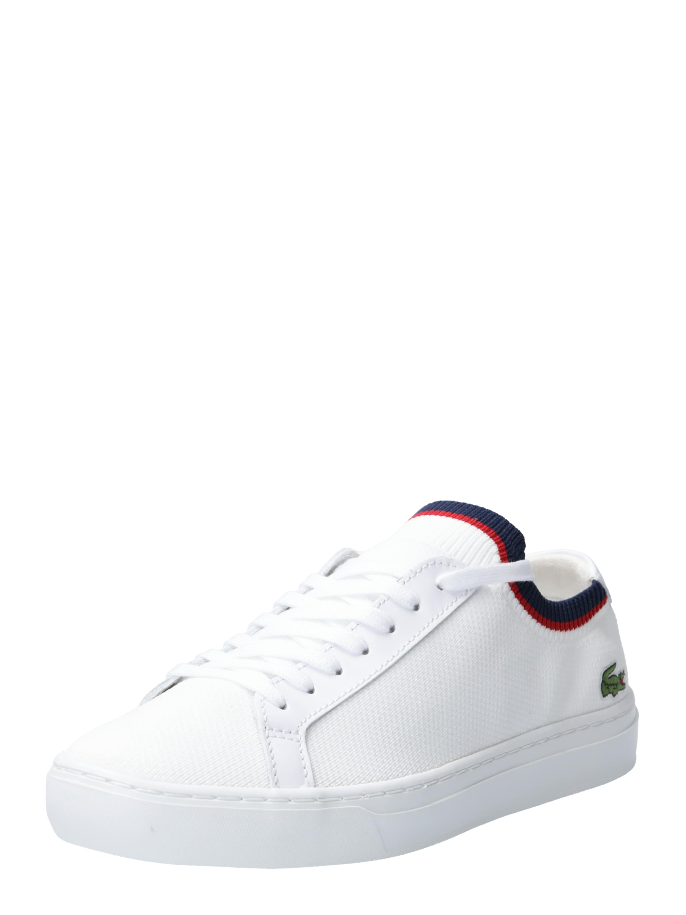 In Sneaker Lacoste Sneaker In NavyRot Lacoste Weiß Weiß NavyRot QCBdhxtrs