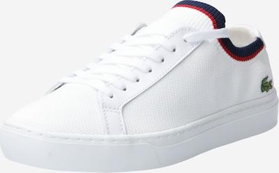 LACOSTE Baskets basses en bleu marine / rouge / blanc: Vue de face