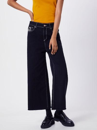 UNITED COLORS OF BENETTON Jeans in schwarz, Modelansicht