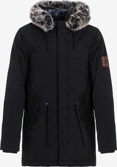 CIPO & BAXX Winterparka 'Army' in schwarz, Produktansicht