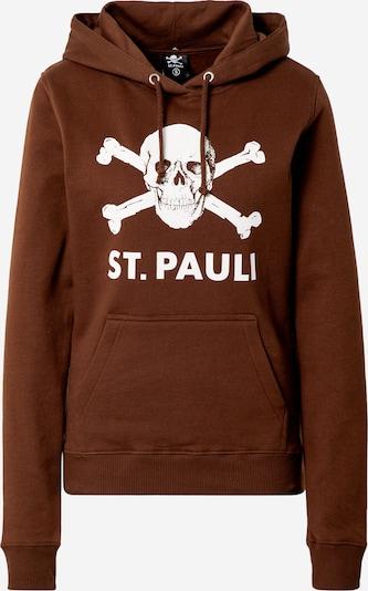 FC St. Pauli Sweatshirt in de kleur Koper / Wit, Productweergave