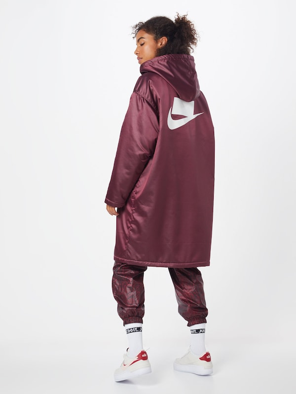 Nike Sportswear Télikabátok 'W NSW NSP SYN FILL PARKA' piros