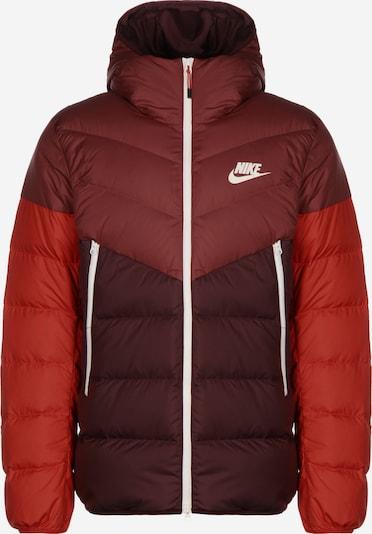 Nike Sportswear Winterjacke 'Windrunner' in rot, Produktansicht