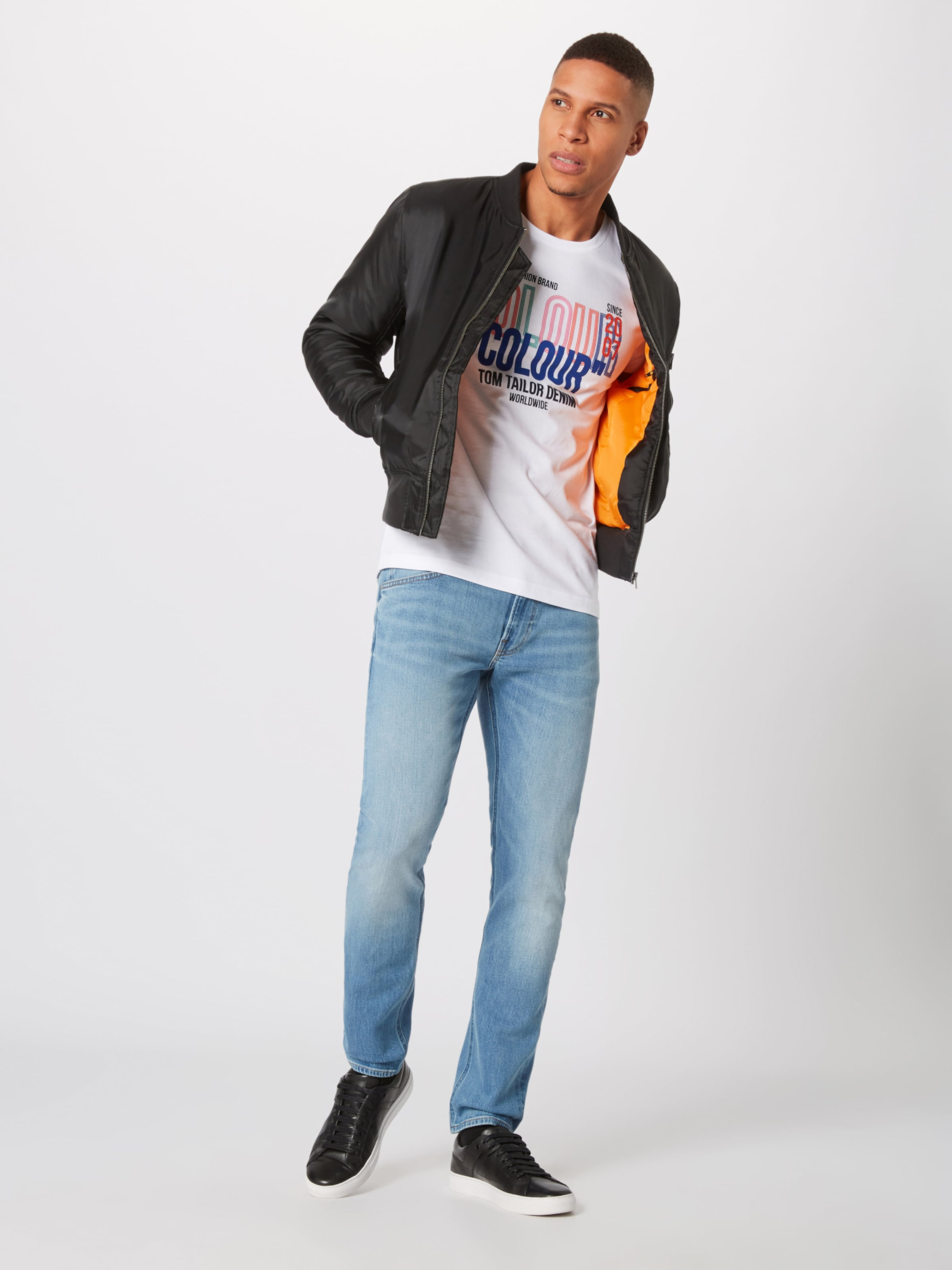 Tom Tailor Denim In Shirt Weiß g7IYyvfb6