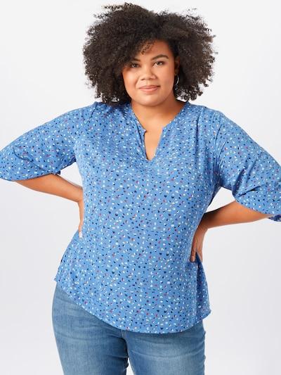 Junarose Bluse 'BINTA' in hellblau / mischfarben, Modelansicht