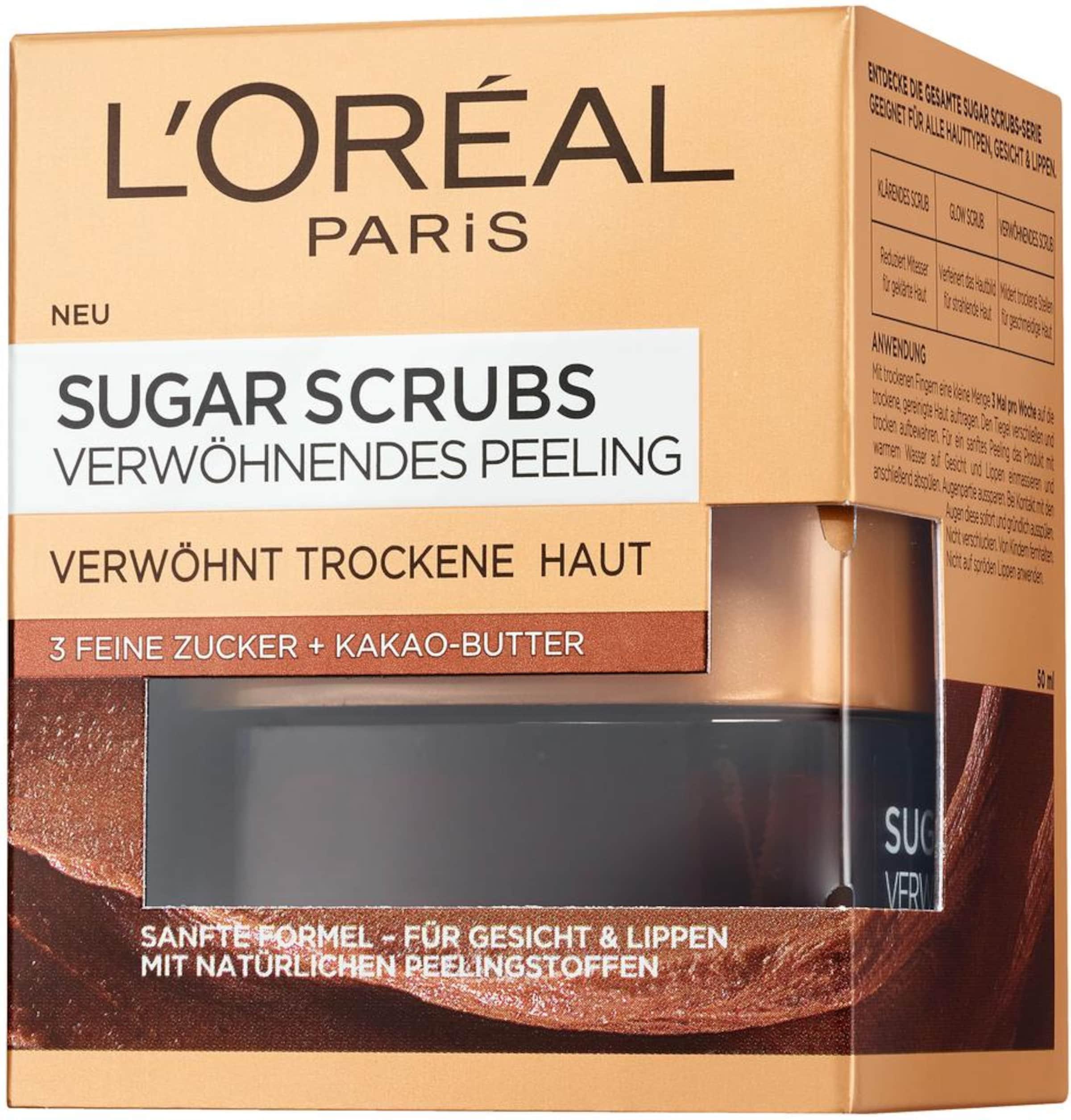 L'oréal Paris In Sugarscrub Nourish Kastanienbraun qVSUzMp