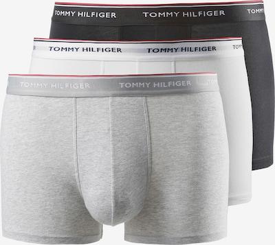 TOMMY HILFIGER Boxershorts in nachtblau / grau / rot / schwarz / weiß, Produktansicht