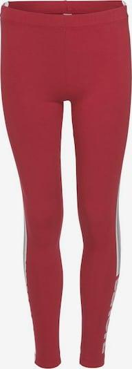 BENCH Leggings in grau / rot / weiß, Produktansicht