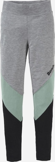 BENCH Leggings in grau / mint / schwarz, Produktansicht