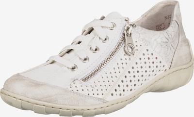 RIEKER Sneakers laag in de kleur Beige / Wit, Productweergave