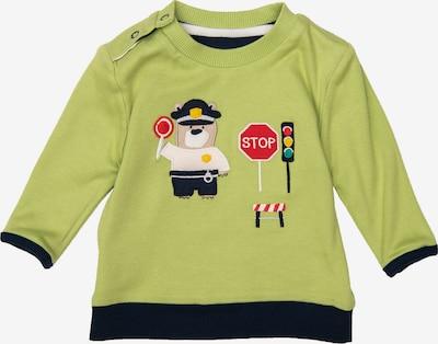 SIGIKID Sweatshirt in dunkelblau / apfel / weiß: Frontalansicht