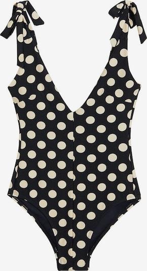 MANGO Badeanzug 'Cope' in schwarz, Produktansicht