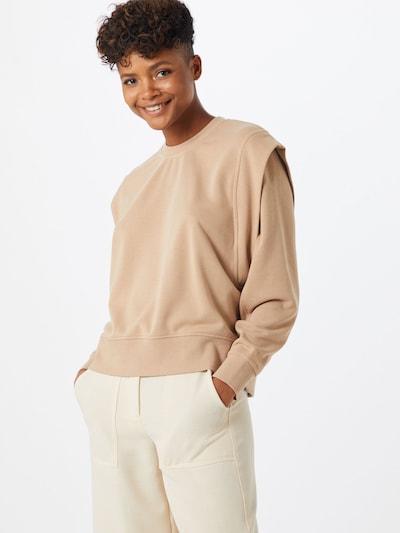 VERO MODA Sweatshirt 'Willow' in beige, Modelansicht