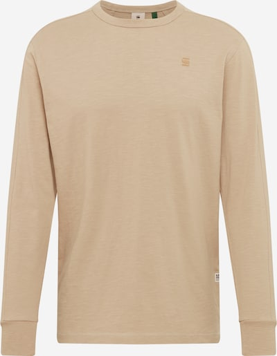 G-Star RAW Shirt in beige, Produktansicht