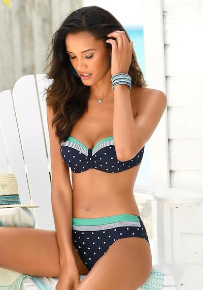 LASCANA Top de bikini 'Monroe' en azul / turquesa, Vista del producto