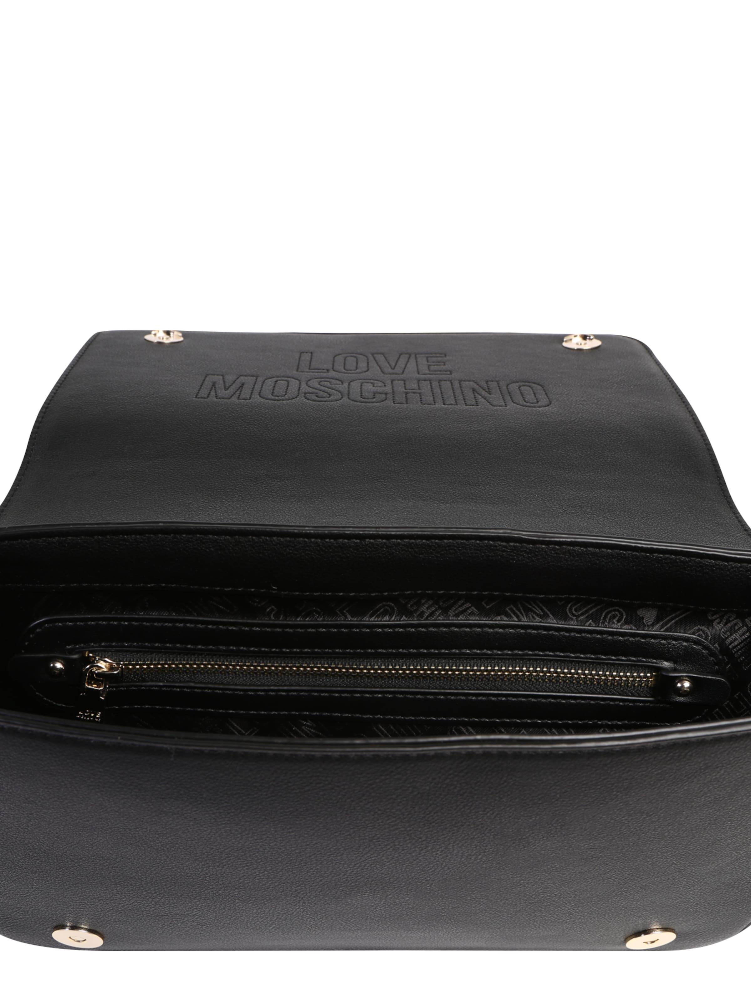 pu Moschino Handtasche In Schwarz Nero' Love 'borsa Pu Y29EDHWI