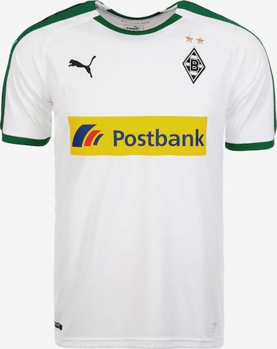 PUMA Fußballtrikot 'Borussia Mönchengladbach 18/19 Heim' in schoko / gelb / grün / weiß, Produktansicht