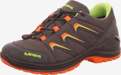 LOWA Lage schoen in de kleur Greige / Kiwi / Koraal, Productweergave