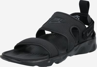 NIKE Sandales 'Owaysis' melns, Preces skats