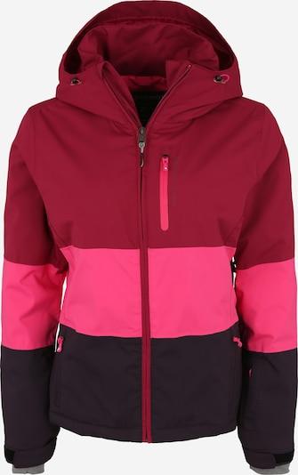 PROTEST Wintersportjacke 'Kemble' in beere / pink / schwarz, Produktansicht