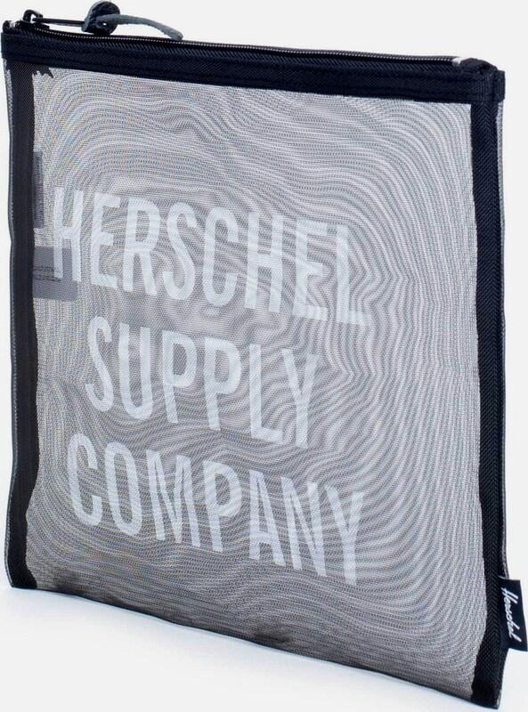 Herschel Tasche mit Reißverschluss 'Network Pouch Large, Black'