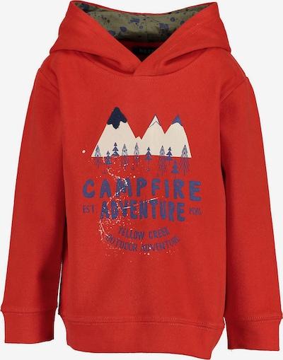 BLUE SEVEN Sweatshirt in rot, Produktansicht