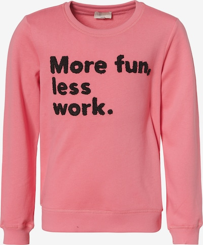 KIDS ONLY Sweatshirt in rosa / schwarz, Produktansicht