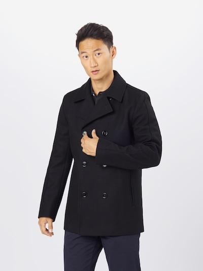 HUGO Mantel 'Balno' in schwarz, Modelansicht
