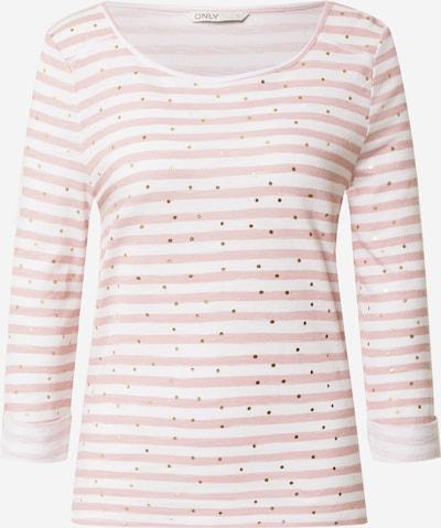 ONLY Shirt 'Jess' in rosé / weiß, Produktansicht