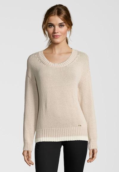 CINQUE Sweater 'Ciselina' in Beige / White, Item view
