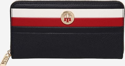 TOMMY HILFIGER Geldbörse in nachtblau / rot / weiß, Produktansicht