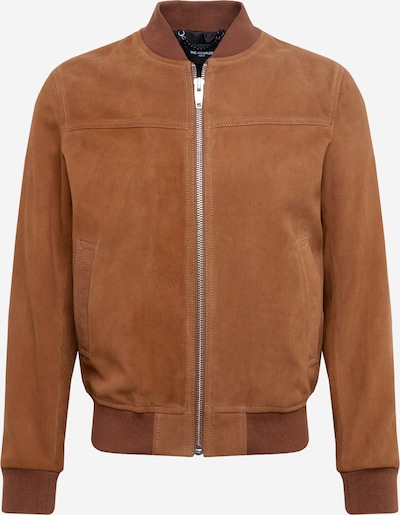 The Kooples Blouson 'CUIR' in braun, Produktansicht