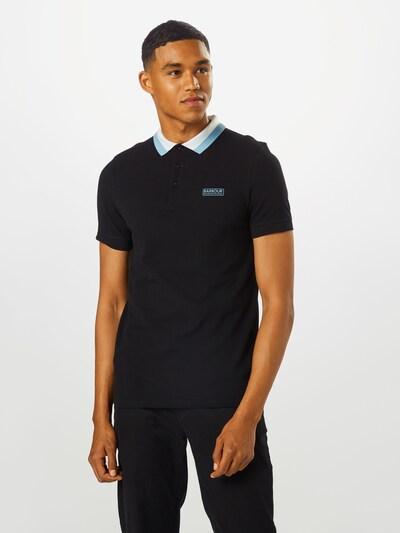 Barbour International Shirt in de kleur Zwart: Vooraanzicht