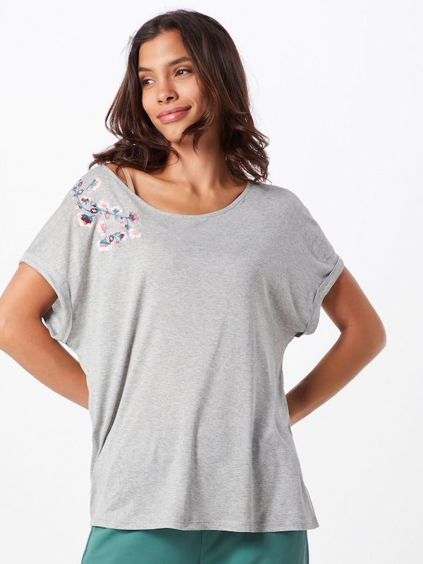 shirt Gris En T Oversize 'elea' hQsdtrCx