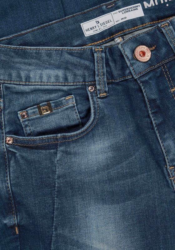 HIS JEANS Jeans ' Lorraine ' in dunkelblau dunkelblau dunkelblau  Neuer Aktionsrabatt 3df531