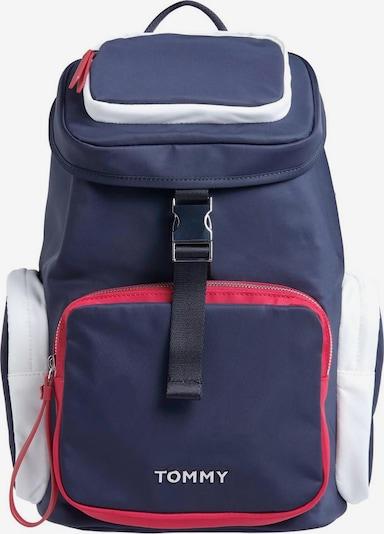TOMMY HILFIGER Batoh 'NYLON BACKPACK' - námořnická modř / červená / bílá, Produkt