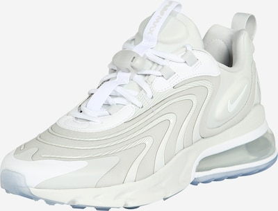 NIKE Sneaker 'Air Max 270 React' in platin / weiß, Produktansicht