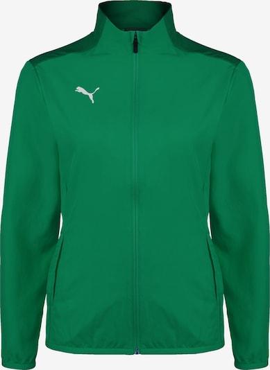 PUMA Trainingsjacke 'TeamGOAL 23 Sideline' in grasgrün / dunkelgrün, Produktansicht