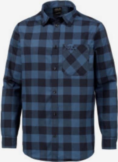JACK WOLFSKIN Hemd 'Red River' in rauchblau / dunkelblau, Produktansicht