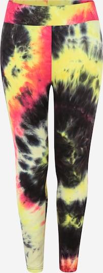 Urban Classics Leggings in gelb / pink / schwarz / weiß, Produktansicht