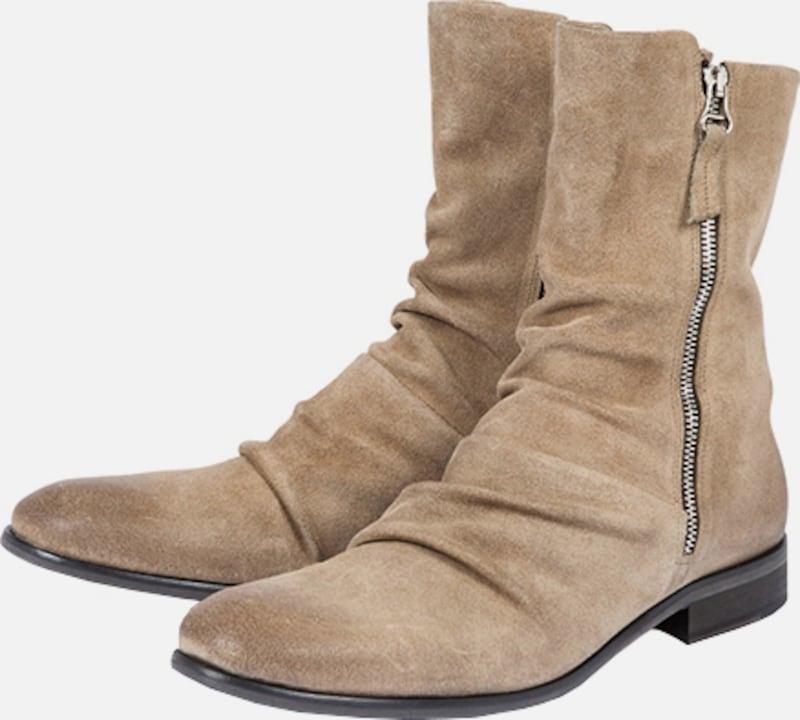 tigha | Boots Schuhe mit Faltenwurf  'Rohan' Schuhe Boots Gut getragene Schuhe 8d44e6