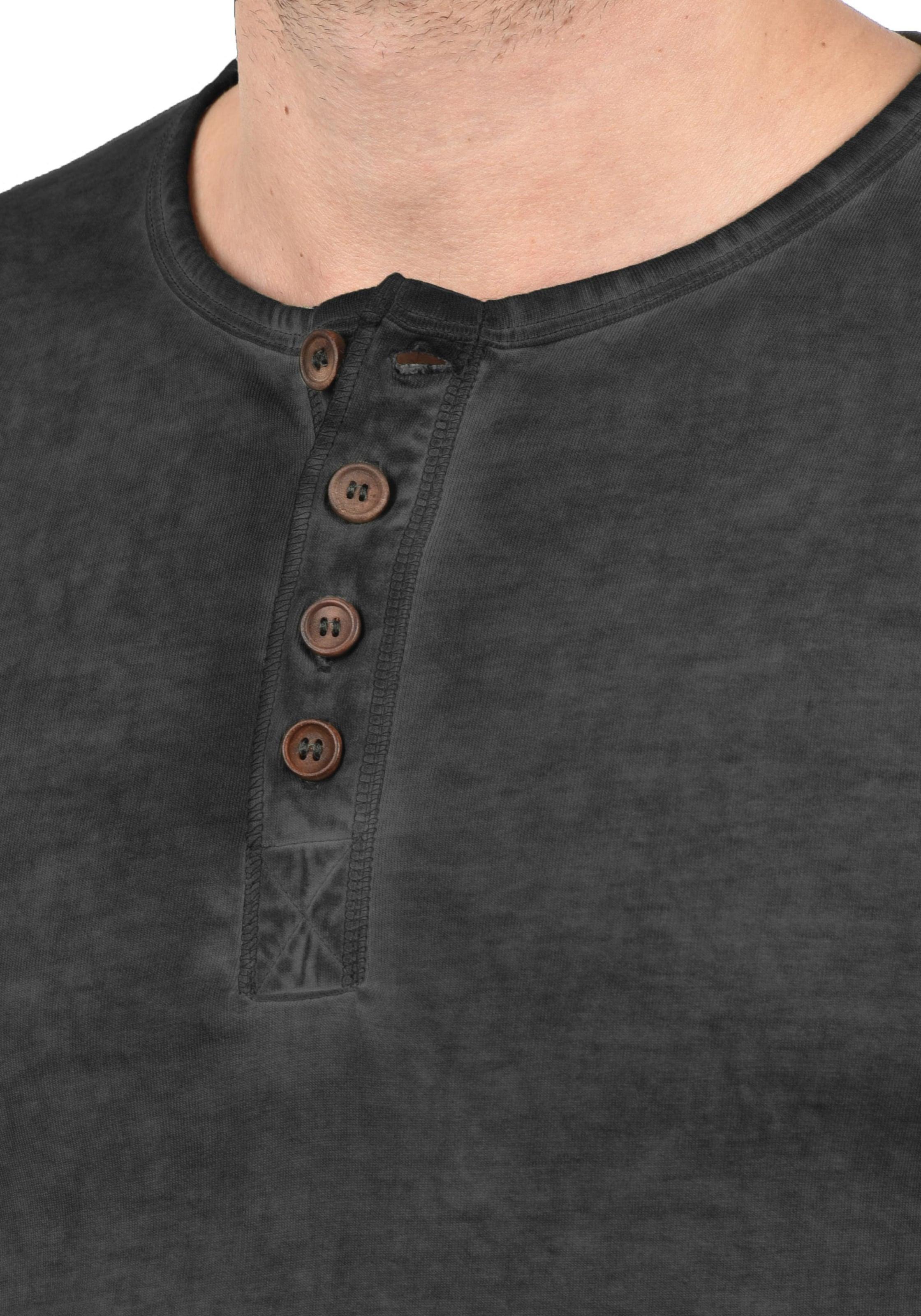 solid Rundhalsshirt Schwarz Rundhalsshirt 'tihn' 'tihn' In solid N0mv8nw