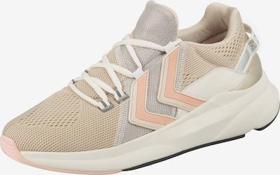 Hummel Sneaker in beige / hellgrau / koralle / naturweiß, Produktansicht